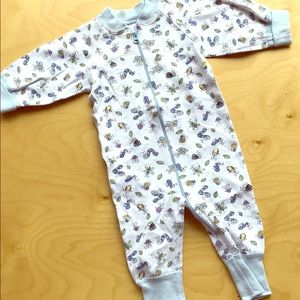 Hanna andersson bugs bees caterpillar worm pjs